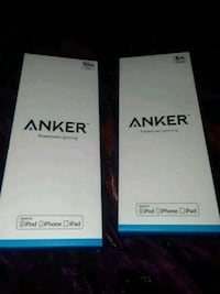 Anker power charging cables 10ft and 6ft  Sunnyvale, 94085