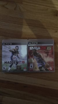 2 ps3 games Windsor, N8W 2L2