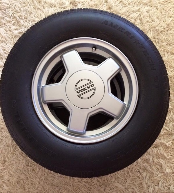 Coffee Table (man cave) Volvo Wheel