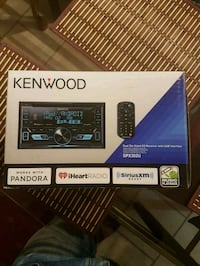 Double din kenwood car stereo