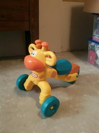 Fisher-Price Musical Giraffe ride-on toy Beaumont, T4X 1T3