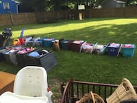 Bunch of girls clothes sizes nb to 7 & 8. All seasons $1 a piece  New Milford, 06776