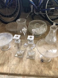 clear glass pitcher and drinking glasses Oglethorpe, 31068