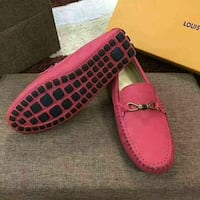 pair of pink-and-black leather loafers Coventry, CV5