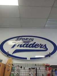 10ft Aluminum Sports Traders Sign Port Alberni, V9Y 2A7