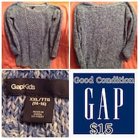 Girls size 14/16 Gap sweater Edmonton, T5T 3E9