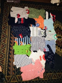 Cloths new born to 3 months