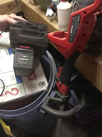 Cordless weed whacker needs a new battery