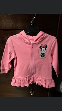 Minnie Mouse zip-up