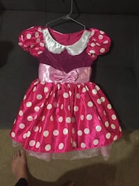 Pink mini mouse dress Winnipeg, R2C 4A6