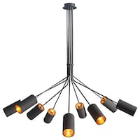 Spuntnik Ceiling Mount Light Fixture by Zuo 50214 Ambition Oakville