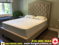 BED FRAME AND MATTRESS FACTORY OUTLET  Milton, L9T 4G1