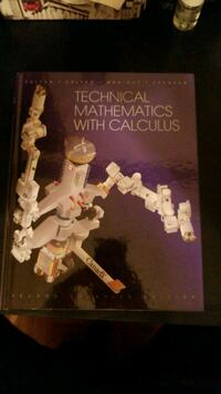 Technical mathematics with calculus 2nd Can. Ed.