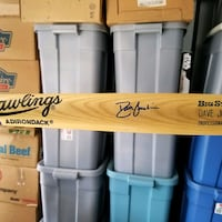 Atlanta Braves David Justice autographed Bat Front Royal, 22630