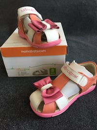 New! Toddler leather sandals 8 New York, 11385