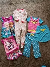 5T girls pajamas