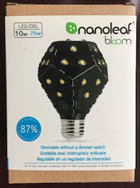 Nanoleaf Bloom Dimmable LED Lightbulb (Allows dimming without dimmer switch) Brand New. See my other offers Stockton, 95209