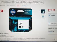HP Ink cartridges  Laval, H7V 3N9