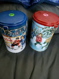 DECORATIVE METAL COLLECTABLE TIM HORTONS TINS  Montreal, H9H 1E3