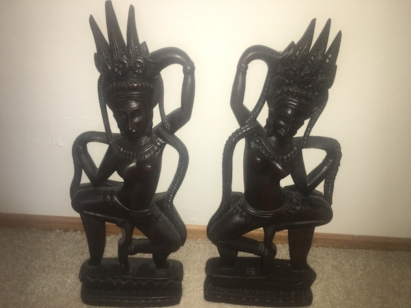 Thai Handmade wood sculpture
