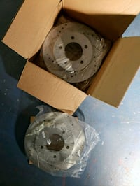 New rotors for vehicles listed in info. Chesapeake, 23322