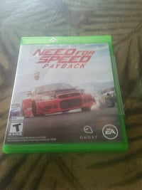 Need for Speed Rivals Xbox One game case Orem, 84097