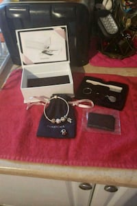 Pandora Bracelet/Charms As well as Cleaning Kit.  Barrie, L4N 2L2
