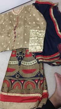 Brown, red, and blue indo western style new Brampton, L6P