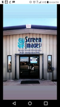 Screen images screen printing, embroidery Albuquerque
