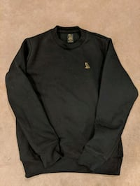 Black OVO essentials crew
