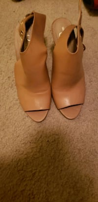 Nude high heels size 7.5 Tulare, 93274