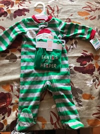 Carters baby pajamas and 1C Christmas size 9 months new with tags