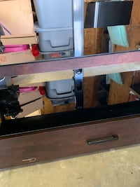 TV stand coffe table and 2 end tables for all or sell separately