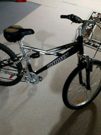 black and white Mongoose BMX bike Langley, V1M 3Z2