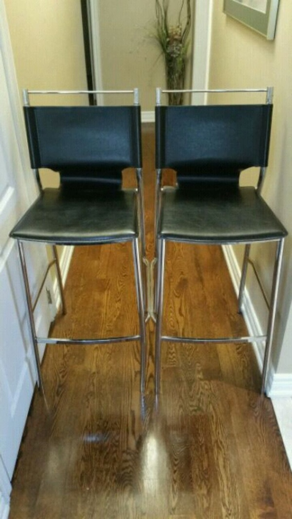 Modern Leather Style Stools