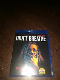 Don't Breathe blue-ray, only used once!!