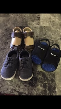 toddler's three pairs of shoes Calgary, T3J 2X4