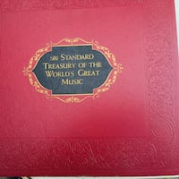 1958 The Standard Treasury of the World's Great Music Washington, 20003