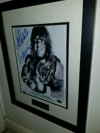 wwf's Ultimate Warrior signed & authenticated phot Toronto, M1L 2T3