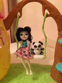 Enchantimals Panda Playset + doll and pet