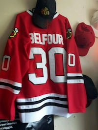 red and white Reebok jersey shirt Waterloo, N2L 4T2
