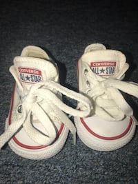Red and white toddler converse Elmira Heights, 14903