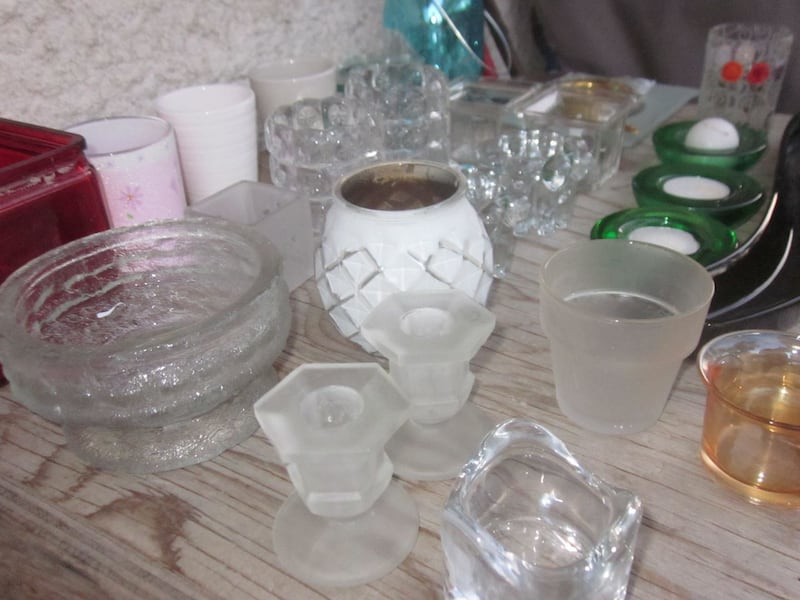 Lot of 27 Candle and Tealight Candle Holders   d844b801-9952-4bf7-82b3-6fd4ea633e4d