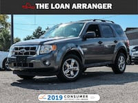 2011 Ford Escape with 165,072km and 100% Approved Financing Toronto