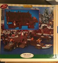 Fishing wharf for a Christmas village or train set  Mobile, 36695