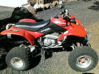 red and black Honda ATV Show Low, 85901