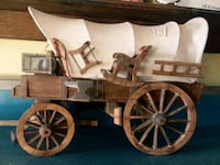 Hand Made Covered Wagon Full Of Carved Furniture  Perrysburg, 43551