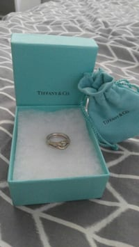 Tiffany Silver Knot Ring, Men's size 8