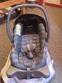 Car seat with base Clinton, 61727