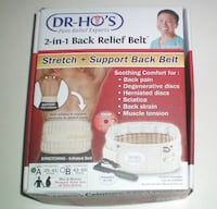 Dr Ho 2 in 1 Back Relief Belt NIB